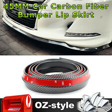 5M PVC Rubber Lip Skirt Car Front Rear Under Door Side Edge Bumper Bar Protector