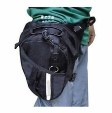 Motorcycle Scooter Drop Leg Waist Bag with Key Chain / Reflective tape Wallet