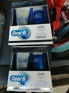 Oral-B Gum Intensive Care System/Toothpaste 85ml & Protective Shielding Gel x2