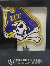 EAST CAROLINA PIRATES Neon Logo Desk Lamp Col-ECU-1808
