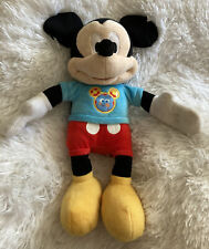 """New listing Mickey Mouse Disney Clubhouse Talking Singing Plush Toy 13"""" Just Play"""
