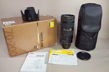 Nikon AF-S 70-200mm F2.8G VR II Nano. Excellent condition