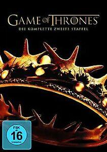 Game of Thrones - Staffel 2 [5 DVDs]   DVD   Zustand gut
