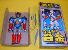 TEKKAMAN NAKAJIMA MODEL TOY ROBOT Dx  DIECAST METAL FIGURE JAPAN vintage'70 BOX
