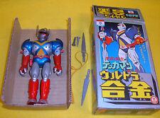 TEKKAMAN NAKAJIMA MODEL TOY ROBOT Dx  DIECAST METAL FIGURE JAPAN vintage'70 BOX