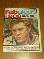 FABULOUS 208 MUSIC MAGAZINE 3RD DECEMBER 1966 THE WHO ROBERT VAUGHN ROGER MOORE
