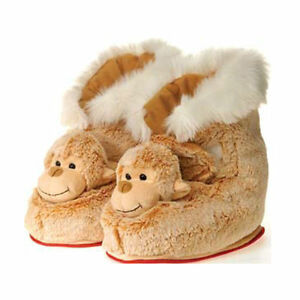 Boots Indoor Plush Monkey Adult One Size New