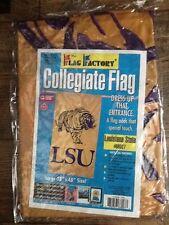 Lsu Tigers Flag Factory Large Flag; 28'' x 48'' Ncaa; Sec