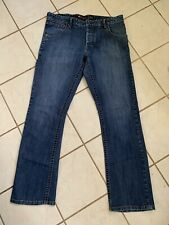 QUIKSILVER Reese Forbes Signature Men's Button Fly Slim Regular Fit Jeans 34x31
