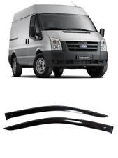 For Ford Transit 2000-2013 Window Visors Side Rain Guard Vent Short Deflectors
