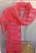 Ladies Zigzag Summer Scarf Knitting Pattern