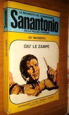 COMMISSARIO SANANTONIO # 33^ INCHIESTA - GIù LE ZAMPE - BERù -1973