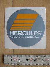 Aufkleber / Sticker HERCULES Stark auf zwei Rädern