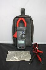 Fluke 30 Clamp Meter 600V 400A Clamp Meter W/ Leads and Case LOOK!!