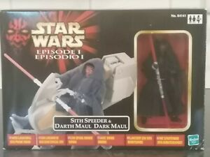 Star Wars Episode 1 ~ Sith Speeder & Darth Maul ~ BNIB