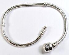 """18cm or 7"""" GENUINE PANDORA 925 ALE STERLING SILVER BRACELET Jewellery 590702HV"""