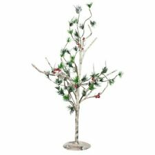 Fizzco Green Leaves and Red Berry Tree 63cm x 38cm