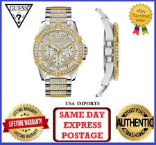 GUESS W0799G4 Steel 316 L Silver Analog Quartz Watch