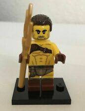New LEGO MINIFIGURES Minifig Series 17 Roman Gladiator w/ Trident Genuine