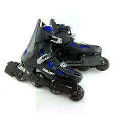 Men 10 Bauer M 200 Fitness Inline Hockey Skates Roller Blade Super Light Chassis