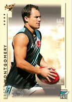 ✺New✺ 2003 PORT ADELAIDE POWER AFL Card BRETT MONTGOMERY Select XL