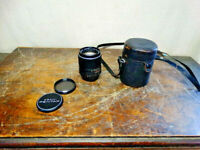 Vintage Asahi Pentax Super Takumar 105mm 1:2.8 Lens with Original Case #1940166