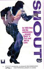 SHOUT - John Travolta - VHS - PAL -N&S - Never played! - Original Oz release