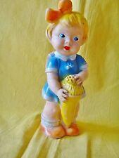 alte Quietsch  Puppe Schulanfang !!!!!