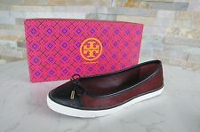 TORY BURCH Gr 37 7 Ballerinas Slipper Sneakers Schuhe shoes Bordeaux NEU UVP215€