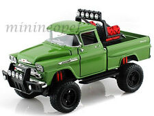 MOTORMAX OFF ROAD 79135 1958 58 CHEVY APACHE FLEETSIDE PICK UP TRUCK 1/24 GREEN
