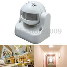 Outdoor Security Infrared PIR Motion Sensor Detector Wall LED Light Switch