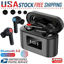 New listing Bluetooth Earbuds for iphone Samsung Android Wireless Earphone Ipx6 Waterproof