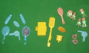VANITY ACCESSORIES FOR  BARBIE DOLL -19 PIECES