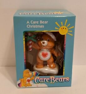 "Care Bears Tenderheart Christmas Ornament 2003 2.5"" x 2.5"" American Greetings"