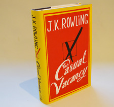 The Casual Vacancy - J K Rowling  1st ed / 1st imp  As New and unread cond