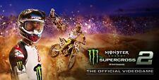 Monster Energy Supercross - The Official Videogame 2 Region Free Steam PC Key
