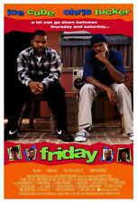 FRIDAY Movie POSTER PRINT 27x40 Ice Cube Chris Tucker Bernie Mac