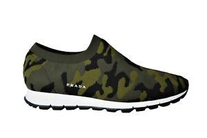 New Authentic PRADA Mens Shoes Sneakers Schuhe Scarpe Sz US10 EU43 UK9 4S3364