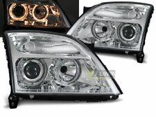 Koplampen fir Opel VECTRA C 02-05 Angel Eyes Chrome UK RHD / LHD LPOP25ET XINO I