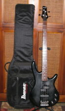 used 2001 Ibanez GSR200 Gio Soundgear 4 String Bass distressed gloss +Ibanez bag