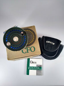 Orvis CFO V Saltwater Disc Drag Fly Reel - Made in England by Hardy - Used