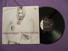 "Simone Angel - Let This Feeling. 12"" Vinyl single (12s899)"