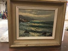 Guido Odiera Framed Oil Painting on Canvas 1950's
