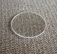 GF8066B FLAT 1.2mm Thick Sapphire Watch Glass Round Crystal 16mm-50mm Diameter
