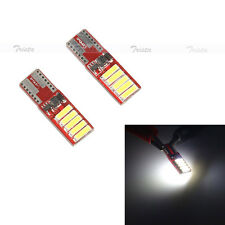 2Pcs 10 SMD LED White Bulb Canbus T10 W5W 194 Car Clearance Side Light Lamp