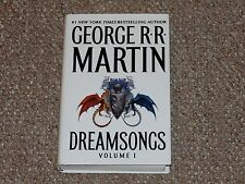 George R.R. Martin Dreamsongs Volume 1 1st Edition Bantam HC/DJ