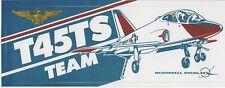 "Vintage McDonnell Douglas ""T45TS Team"" Bumper Sticker"