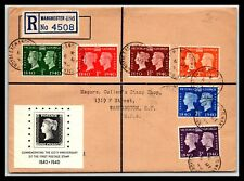 Gp Goldpath: Great Britain Cover 1940 Registered Letter _Cv620_P22