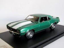 PREMIUM X (IXO) CHEVROLET CAMARO RS 1969 METALLIC GREEN 1/43 PRD549