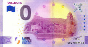 66 COLLIOURE Palais des Rois de Majorque, 2021, Anniversaire, Billet Souvenir